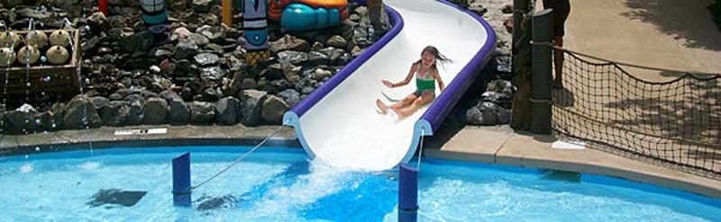 SplashDown Beach Kid's Slide