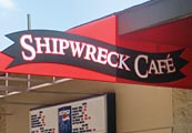 ShipWreck Cafe at SplashDown Beach